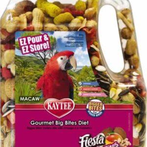 kaytee fiesta gourmet big bites macaw bird food